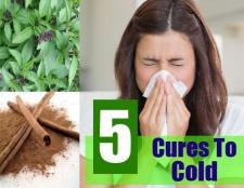 5 façons de se débarrasser d'un rhume