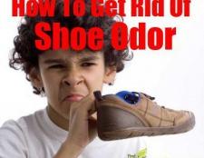 Comment se débarrasser de la chaussure odeur naturellement