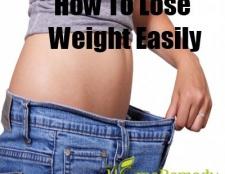 Comment faire pour perdre du poids facilement
