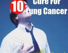 Remède naturel pour le cancer du poumon