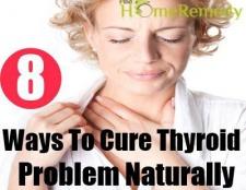 Remède naturel pour problème de thyroïde