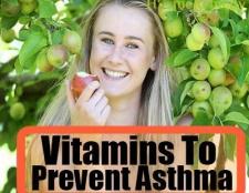 Vitamines naturelles pour prévenir l'asthme