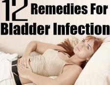 Les 12 remèdes maison recommandées pour infection de la vessie