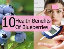 Top 10 des avantages pour la santé des bleuets