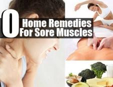 Top 10 des remèdes maison pour les muscles endoloris