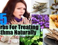 Top 15 des herbes pour traiter l'asthme naturellement