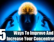 Top 15 des moyens d'améliorer et d'accroître votre concentration