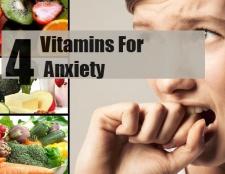 Top 4 des vitamines pour l'anxiété