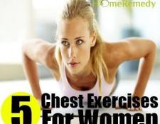 Top 5 des exercices de la poitrine pour les femmes