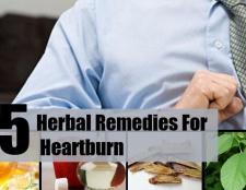 Top 5 des remèdes pour les brûlures d'estomac