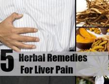 Top 5 des remèdes pour la douleur du foie