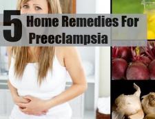 Top 5 des remèdes maison pour la pré-éclampsie