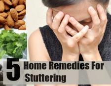 Top 5 des remèdes maison pour le bégaiement