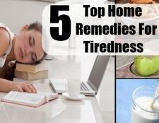 Top 5 des remèdes maison pour la fatigue