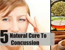 Top 5 des remèdes naturels pour une commotion cérébrale