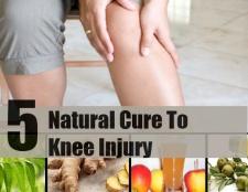 Top 5 des remèdes naturels pour blessure au genou