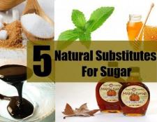 Top 5 des substituts naturels du sucre