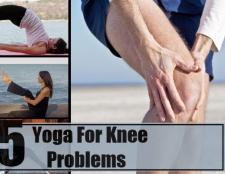 Top 5 yoga pour des problèmes de genou