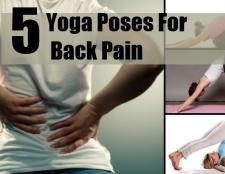 Top 5 des poses de yoga pour les maux de dos