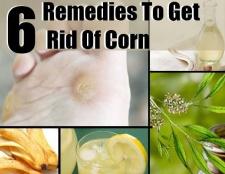 Top 6 des remèdes maison pour se débarrasser de maïs