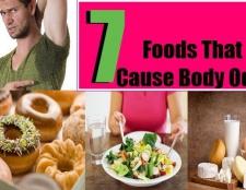 Top 7 des aliments qui causent l'odeur de corps