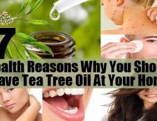 Top 7 des raisons de santé pour lesquelles vous devriez avoir de l'huile d'arbre à thé à votre domicile