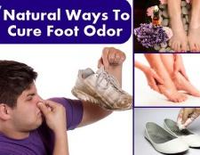 Top 7 des moyens naturels pour guérir les odeurs de pieds