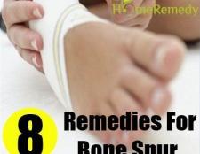 Remèdes maison énormes pour éperon osseux