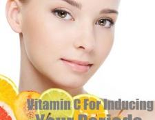 La vitamine C pour induire vos périodes