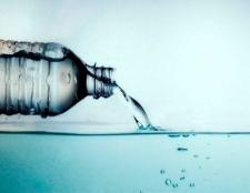 Buvez de l'eau plutôt que des boissons