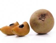 Avantages et utilisations de chikoo (sapotille) fruits et jus santé