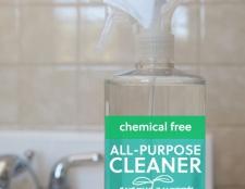 Homemade nettoyant tout-usage sans produits chimiques