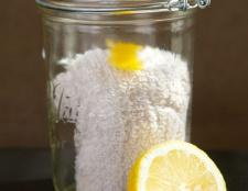 Comment faire de chiffons à poussière de citron réutilisables
