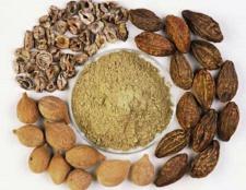 Triphala Churna des avantages à poudre, les ingrédients, les effets secondaires, la dose, comment prendre
