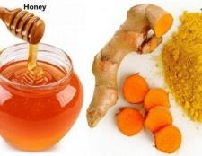 Le curcuma et le miel mélange - un élixir pour la vie