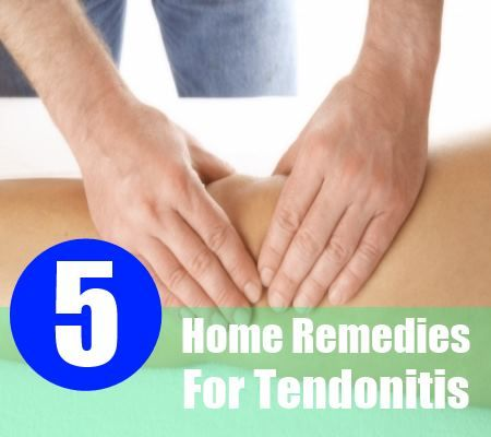 5 Incredible Home Remedies Pour Tendinite