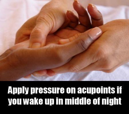 thérapie acupression pour l'insomnie