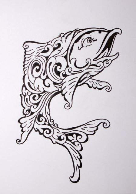 Haida Design Tattoo