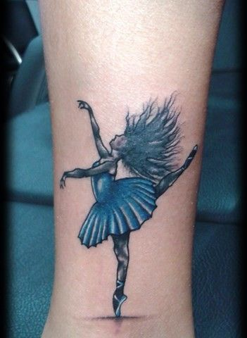 Danse Tattoo Girl Conception