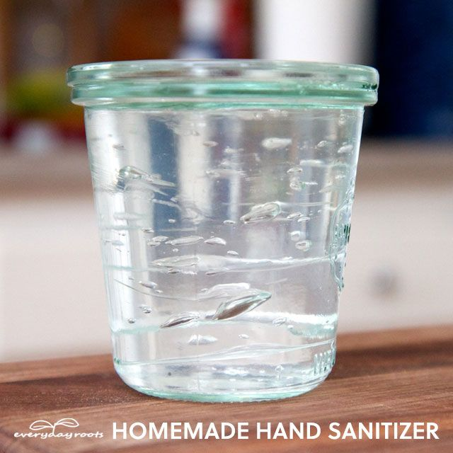 Comment faire Homemade Hand Sanitizer